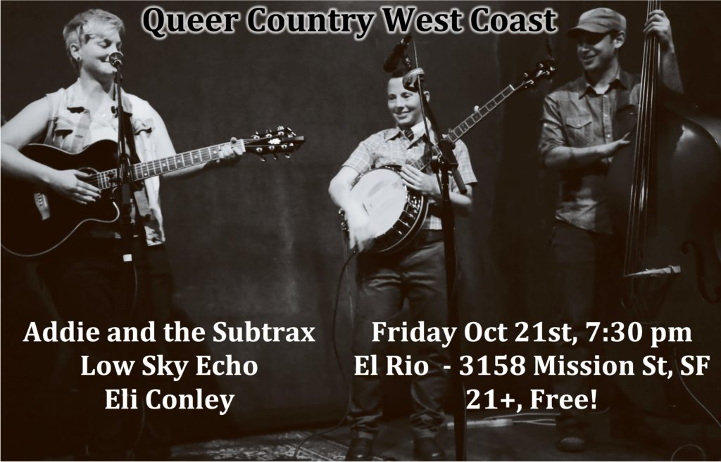 Queer Country West Coast Sept 2016 Flyer